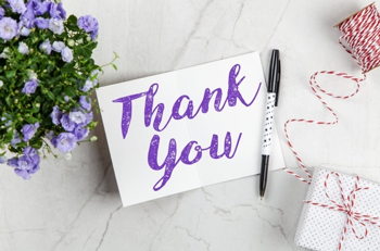 How a Thank You Card can Help
